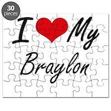 I Love My Braylon Puzzle