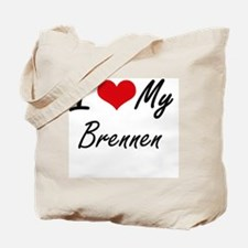 I Love My Brennen Tote Bag