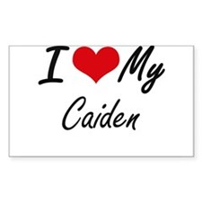 I Love My Caiden Decal
