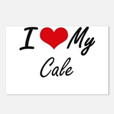 I Love My Cale Postcards (Package of 8)