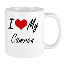 I Love My Camren Mugs