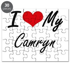 I Love My Camryn Puzzle