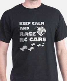 RC Cars T-shirt - Keep calm and Race RC ca T-Shirt