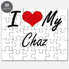 I Love My Chaz Puzzle