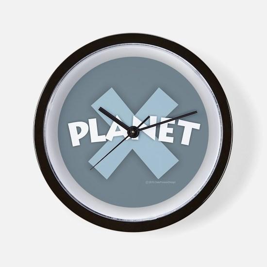 Planet X Wall Clock