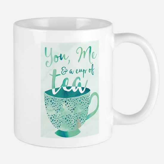 You, Me and a cup of tea Mugs