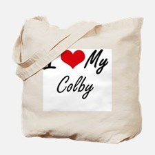 Funny Colby Tote Bag