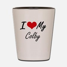 Funny Colby Shot Glass