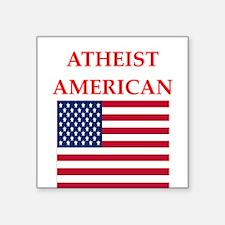 athiest american Sticker