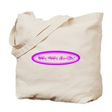 Purple Pink WWJD Tote Bag