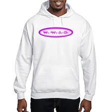 Purple Pink WWJD Hoodie