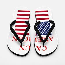cajun american Flip Flops