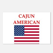 cajun american Postcards (Package of 8)