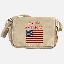 cajun american Messenger Bag