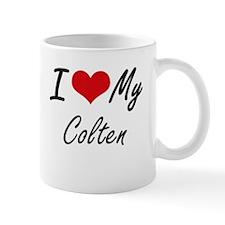 I Love My Colten Mugs