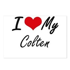 I Love My Colten Postcards (Package of 8)