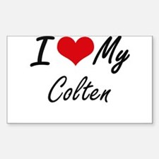 I Love My Colten Decal