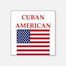 cuban american Sticker