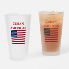 cuban american Drinking Glass