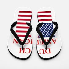 dutch american Flip Flops