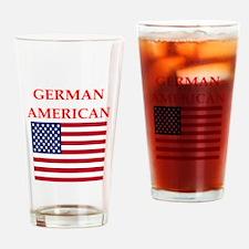 german american Drinking Glass