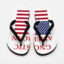 gnostic american Flip Flops