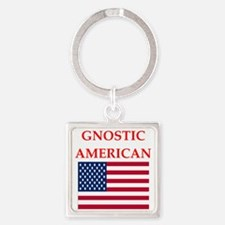 gnostic american Keychains