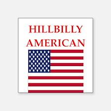 hillbilly american Sticker