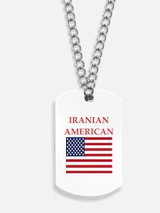 iranian american Dog Tags