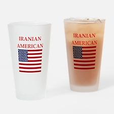 iranian american Drinking Glass