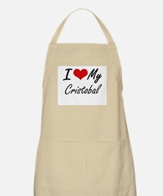 I Love My Cristobal Apron