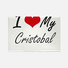 I Love My Cristobal Magnets