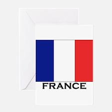 Cute France Greeting Card