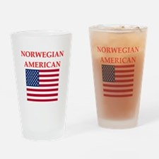 patriotic americans Drinking Glass