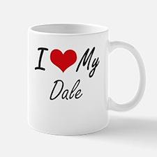 I Love My Dale Mugs