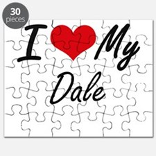 I Love My Dale Puzzle