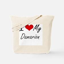 Cute Damarion Tote Bag