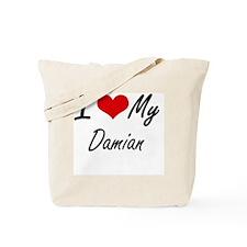 Cool Damian Tote Bag