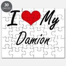 I Love My Damion Puzzle