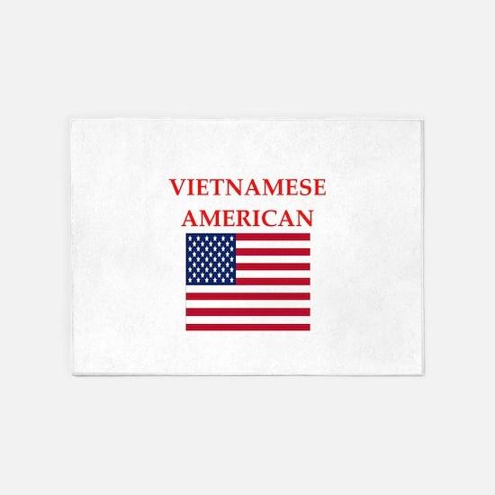 vietnamese 5'x7'Area Rug
