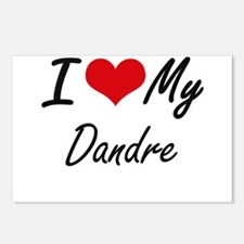 I Love My Dandre Postcards (Package of 8)
