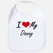 I Love My Danny Bib