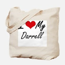 Unique Darrell name Tote Bag