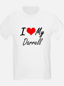 I Love My Darrell T-Shirt