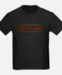 Green Red WWJD T
