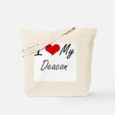 Cute Deacon Tote Bag