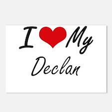 I Love My Declan Postcards (Package of 8)