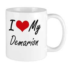 I Love My Demarion Mugs