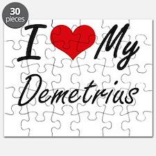 I Love My Demetrius Puzzle