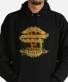 Veterans T-shirt - I come from a lar Hoodie